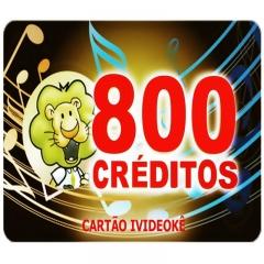 imagem Cartão pré-pago 800 créditos Para Ivideokê Mini 8162/Pop200/Pop 300/Pro 750/Pro 950/Pro 850